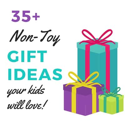 35+ Unique Non-Toy Gift Ideas For Kids
