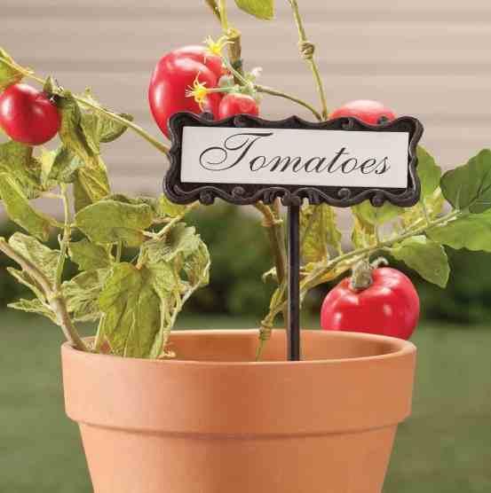personalized garden marker classy