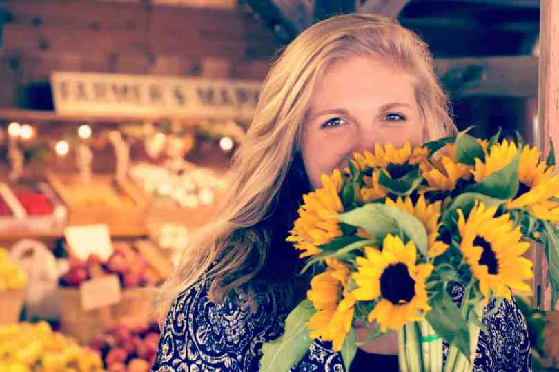Bring smiles and make money by adding cut flowers to your market booth!