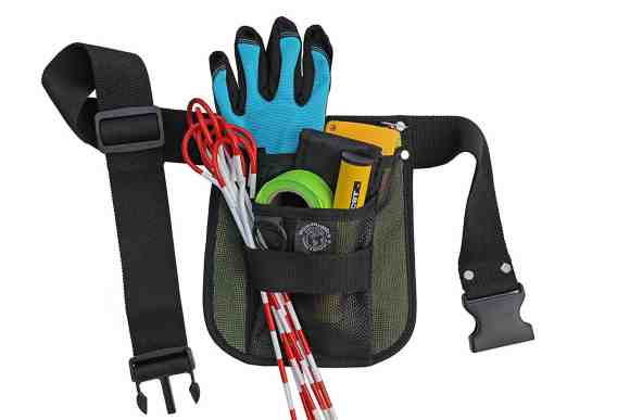 A small tool belt can be a big help in the garden.