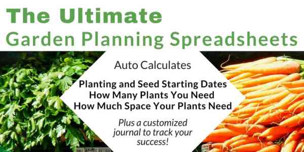 Ready to use garden planning spreadsheets. Customized them with your frost dates and let them do their magic. Learn when to start seeds, plant your garden, track germination, and more.