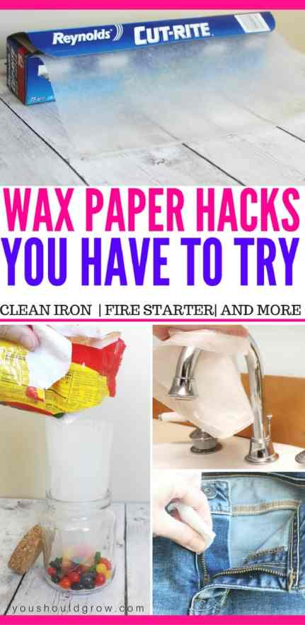 23 genius wax paper hacks you have to try today!