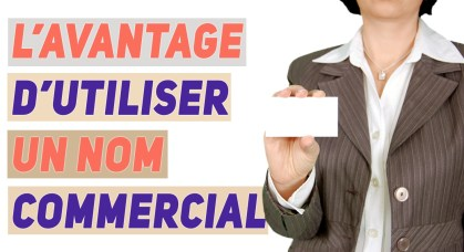 créer un nom commercial