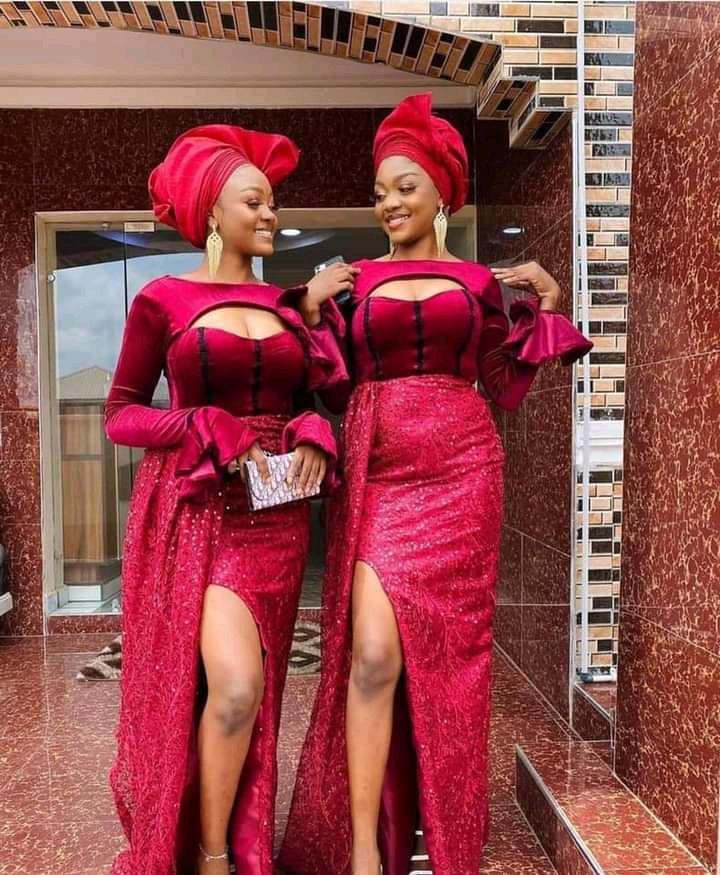 asoebi styles for church and wedding