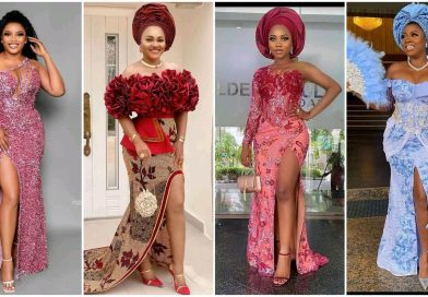 asoebi styles with front slit
