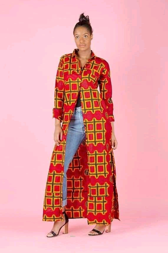 long kimono jacket with jeans