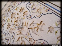 Wall etched mural - what craftsmanship!