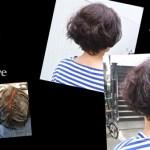 白髪も染めながら透明感のある透けアッシュベージュがお洒落@名古屋@天白区