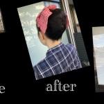 明治時代の役を演じるお客様の舞台のヘアメイクをさせていただきました。@名古屋@塩釜口