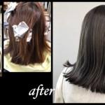 名古屋で明るい白髪染めにするにはブリーチハイライトがおすすめ【あきさん】の髪色