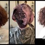 愛知名古屋でイノアの新色ピンクを使ったオイルカラー|かずよさんの髪色