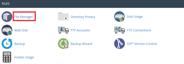 cpanel-file-manager
