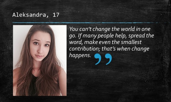 Youth Undergrounders Web_Aleksandra Quote