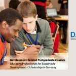 DAAD Scholarships for Development-Related Postgraduate Studies in Germany
