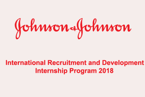 IRDP- MBA International Recruitment and Development Internship Program 2018
