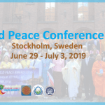 World Peace Conference 2019 in Stockholm, Sweden