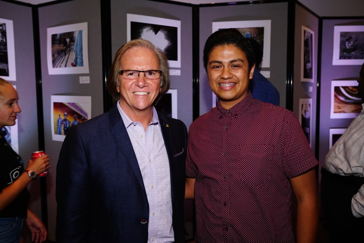 Josue Meets Sony's President, Mike Fasulo