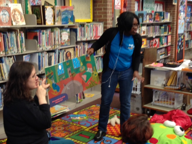 jamilah at library oct 2013