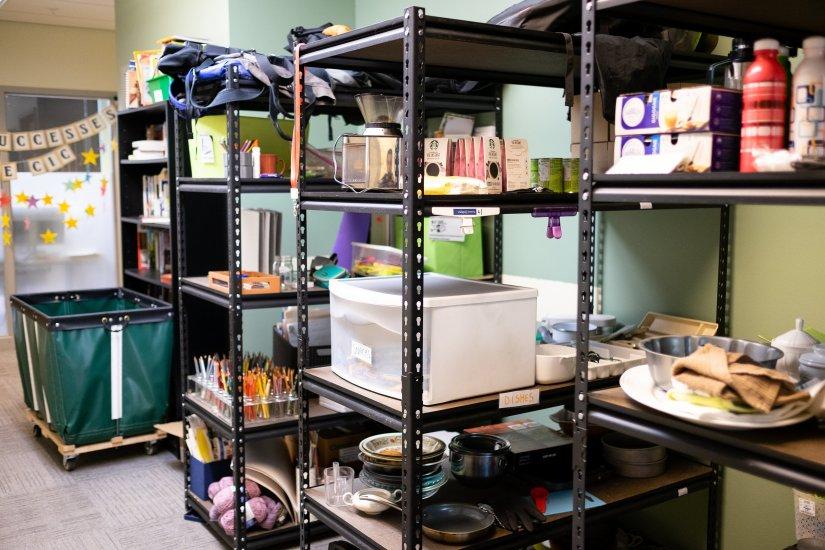 Main Office Donation Area