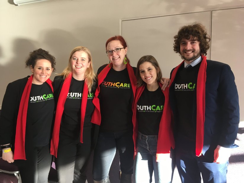 YouthCare staff in Olympia!