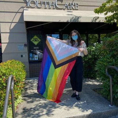 New inclusive Pride flags