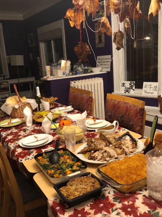 Housing program Thanksgiving Dinner
