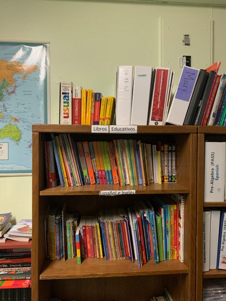 Classroom at Casa de los Amigos