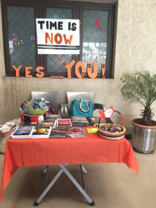 The amazing dawah stall of YC team at RMC