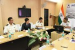 JAPANESE COAST GUARD DELEGATION VISITS COAST GUARD REGIONAL HQ(W)