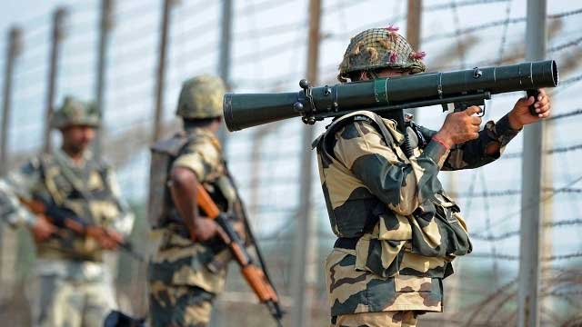 Image result for Heavy firing on LoC