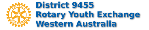 Western Australian D9455 Rotary Youth Exchange