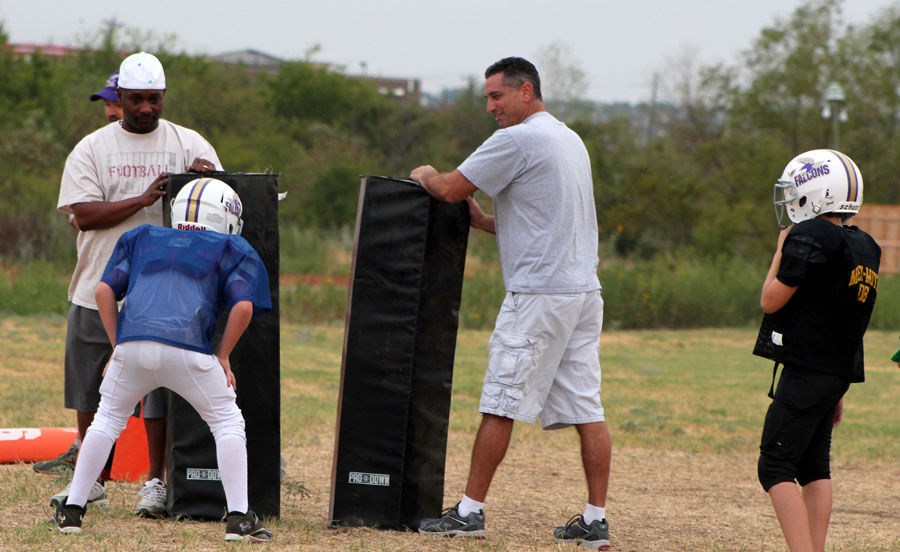 teaching youth football fundamentals