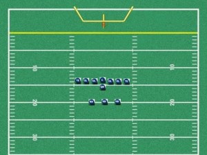 Youth Football T Formation