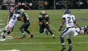 receiver stalking blocking