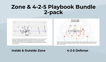 Zone & 4-2-5 Playbook Bundle