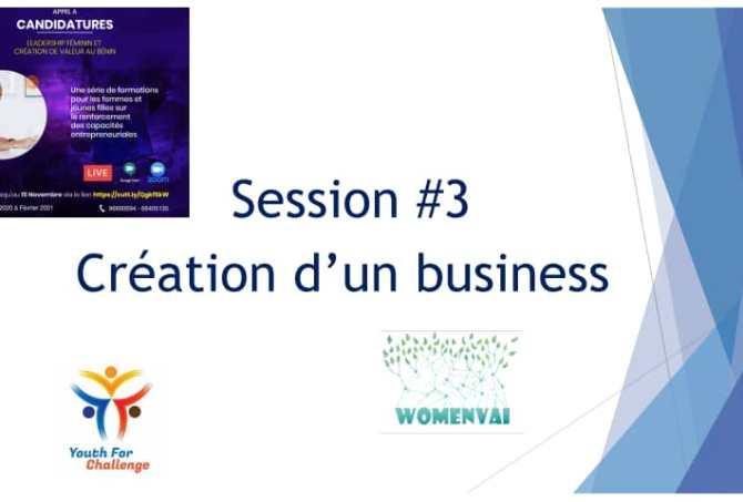 """drittes Webinar des Projekts """"Weibliche Führung und Wertschöpfung in Benin"""" an diesem Donnerstag, den 04. Februar 2021."""