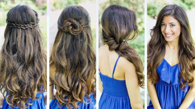 five quick and easy hairstyles for girls on the go