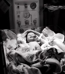 Baby Tori.