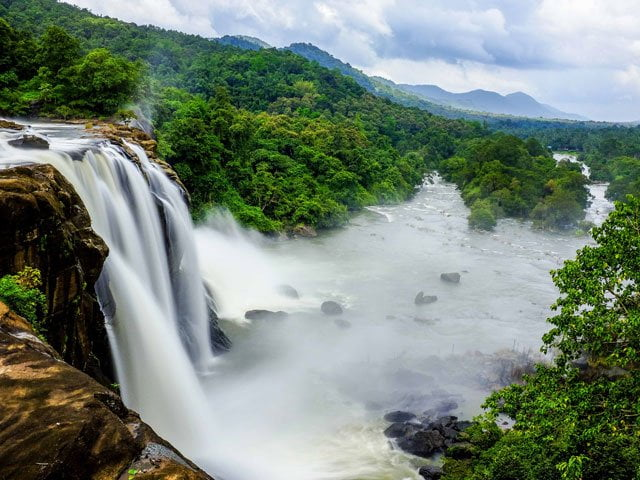 Enchanted Waterfalls kerala