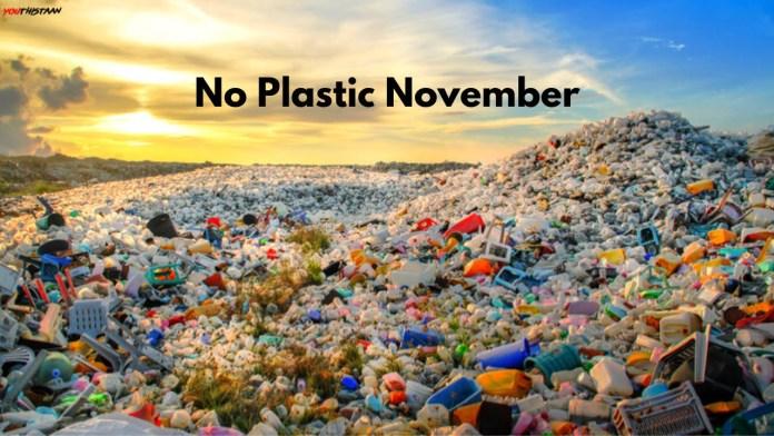 No Plastic November #NoPlasticNovember