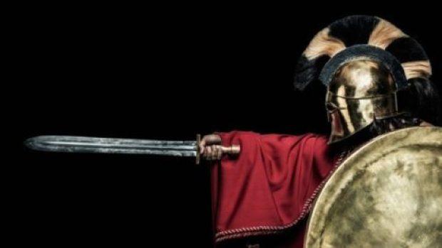 صورة لمحارب روماني