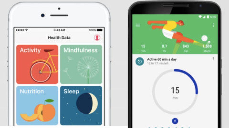 تطبيق Google Fit and Apple Health