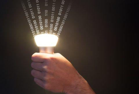 مصابيح تنقل الإنترنت LI FI