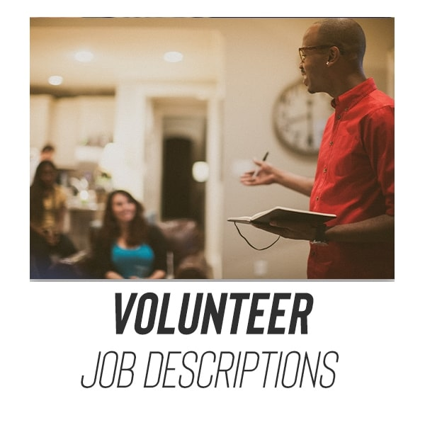 youth group job descriptions