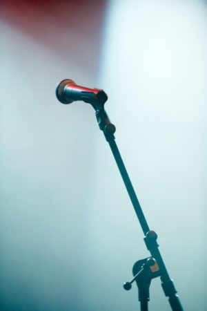 A microphone stand on an empty stagehttp://195.154.178.81/DATA/i_collage/pi/shoots/782410.jpg