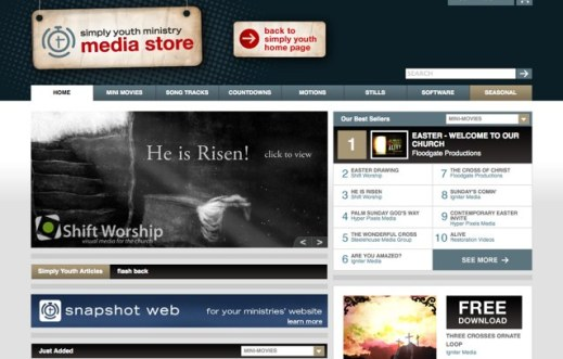 New Youth Ministry Media Store