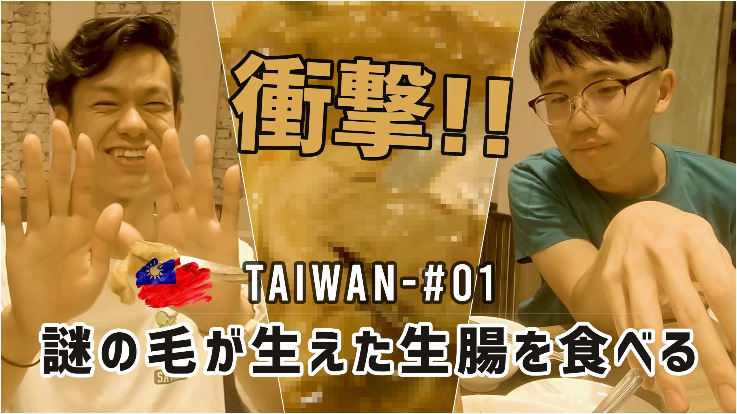 謎の毛が生えた台湾料理を食べて大興奮!台湾旅行 #01 – Taipei Taiwan Day1 vlog #180