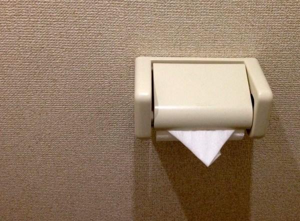 トイレットペーパーの三角折りはやめた方がいい理由
