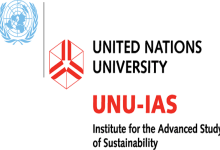 Photo of UNITED NATIONS UNIVERSITY INSTITUTE FOR THE ADVANCED STUDY OF SUSTAINABILITY SCHOLARSHIP PROGRAMME (2021)