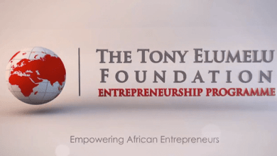 Photo of TONY ELUMELU FOUNDATION 2021 TEF ENTREPRENEURSHIP PROGRAMME NOW OPEN FOR APPLICATIONS